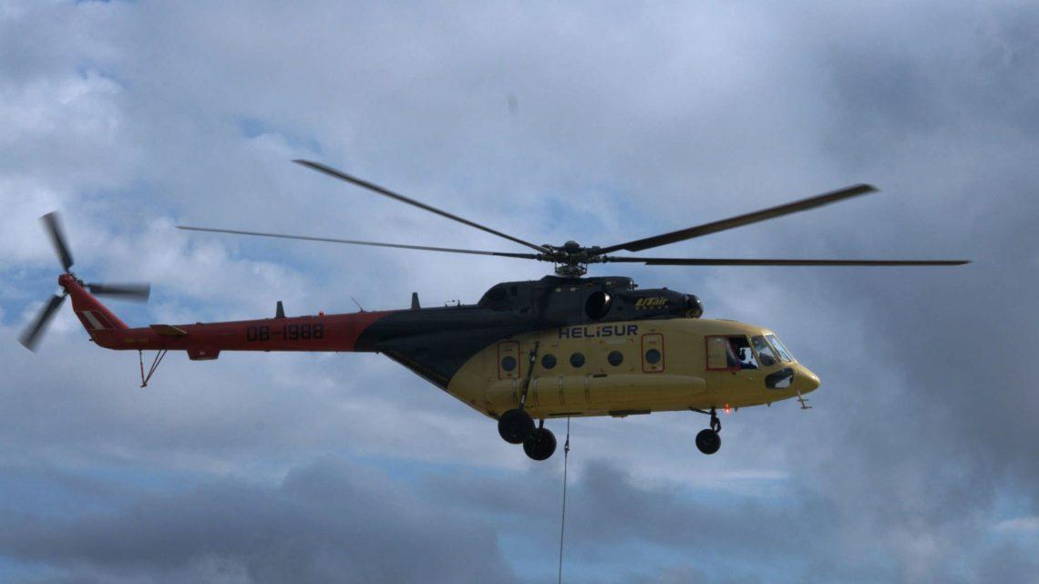 Вертолеты компании Helisur налетали 160 тыс. часов